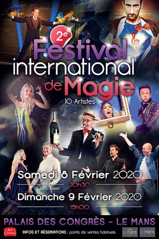 2 eme festival international de magie le mans 2020