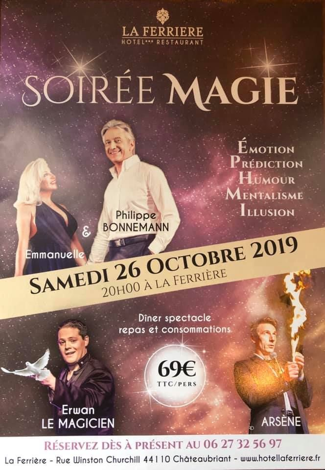 HOTEL RESTAURANT LA FERRIERE A CHATEAUBRIANT 26 OCTOBRE 2019