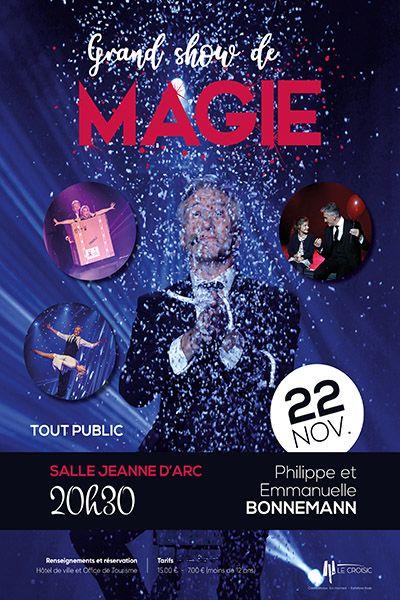 show magique sortie en famille 22 novembre 2019